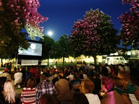 The 14th Festival of Animated Film Stuttgart celebrates animation in a joyful setting. The nightly Open Air animation offers free shows to the general public. All images courtesy of Stuttgart Film Festival, unless otherwise noted.