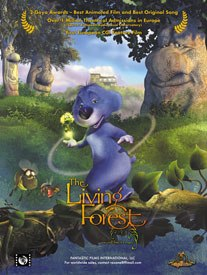 Europe had to wait until 2001 for its own first fully CG movie, Dygra Films'The Living Forest. © Fantastic Films International Llc.