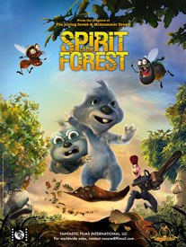 Major CG movies currently in production include Spirit of the Forest from Dygra Films (Spain). © Fantastic Films International Llc.