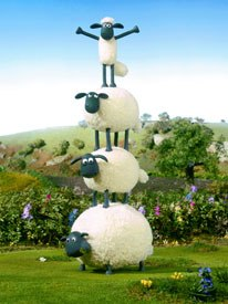 The winner of the Crystal for TV series was Shaun the Sheep, the creation of Christopher Sadler and Aardman Animations. © 2006 Aardman Animation.