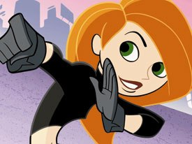 Disney has a deal with Sprint to offer full-length episodes of its content over three channels. Kim Possible will be available on mobile VOD the day after its TV premiere. © Disney Television Animation.