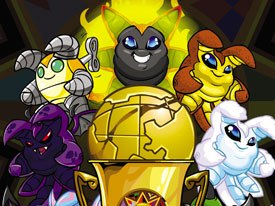 MTVN and Nickelodeon are bringing digital-origin properties to air as well. Nickelodeon will debut Neopets mini-shows this month as a series of interstitials. © Nickelodeon Digital Media.