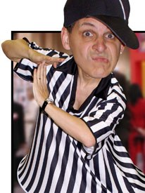 Mark Simon as the rights referee. All images courtesy of Mark Simon.