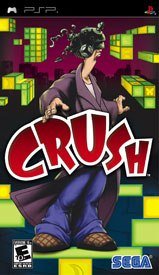 Crush is a much-needed original title for the PSP.
