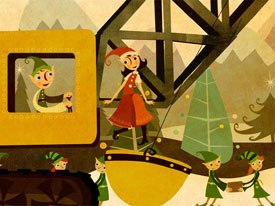 Reelworks Animation Studio saw a group of holiday elf characters it created for the amusement park at the Mall of America developed into licensed merchandise sold at the venue. © Reelworks Animation.