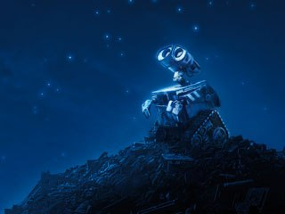 In the most comprehensive panel of the event, Disney-Pixar shared concept art, plot details and character info for WALLE. © Walt Disney Co.