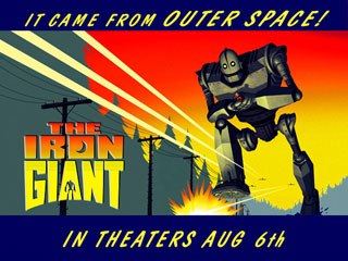 In an entertaining story that appeals to young and old, The Iron Giant brings home the message that we choose our own destiny. © 1999 Warner Bros.