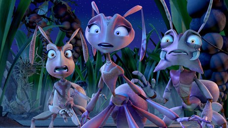 The casting of Nicolas Cage, Julia Roberts and Meryl Streep didn't help the box office receipts for The Ant Bully. © Warner Bros. Pictures.