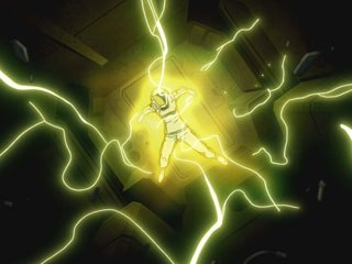 Kurau's rebirth gives her amazing superhuman abilities -- Rynax powers. The powers, of course, don't come without a cost.