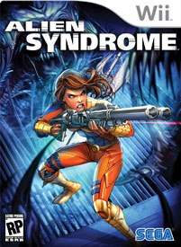 Fifteen years after its debut, Alien Syndrome finally gets another run! All Alien Syndrome images © SEGA of America.