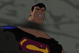 A challenge for the Superman Doomsday creative team was to make a
