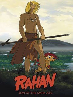 The Italian-French TV series Rahan, now in pre-production, is based on a French comic strip about a virtuous boy growing up in a prehistoric period of tension between Neanderthals and Homo sapiens. © Xilam Animation/Castelrosso Films.