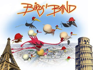 Toposodo took its project Birds Band to previous partner Ellipsanime and they developed it together, with RAI's blessing and contributions. © 2007 -Ellipsanime/Toposodo/RAI-Fiction.