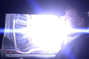 Vfx tropes established in the first episode often get trimmed. For Journeyman, the effects were created to remain viable through the course of the series life.