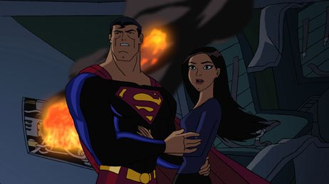 Superman Doomsday's narrative is often different, and superior, to the comic book, and includes an overtly sexual arrangement between Lois Lane and Superman.