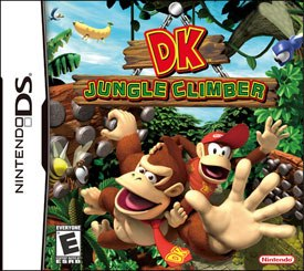 For those of you who remember the totally awesome DK King of Swing on the Game Boy Advance, Jungle Climber is the same kind of game, but even more totally awesome.