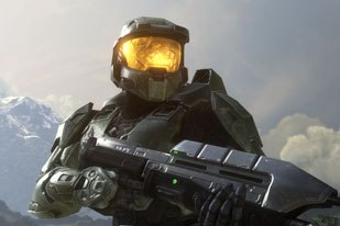 Halo 3 boasts 30 cinematics running about 50 minutes. Bungie's cinematics team did the layout and rough animation, sending a Maya file with the camera work, timing and blocking to animation houses.