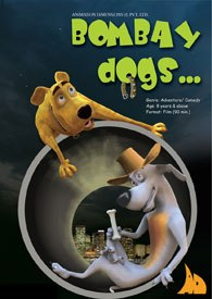 Animation Dimensions has four animated films lined up, including Bombay Dogs. © Animation Dimensions.