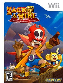 Thankfully, Zack & Wiki: Quest for Barbaros' Treasure turned out to be one of the best games for the Nintendo Wii! All Zack & Wiki images © Capcom.