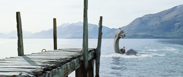 Weta not only had to tackle the creature, but also lakeside environments as well.