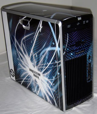 The xw8600 skinned.
