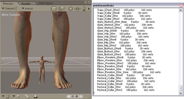 Poser 7 Revealed': Access Pre-Built Scripts | Animation