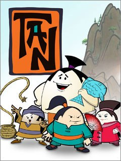 Lincoln Butterfield Animation introduced itself at NATPE with Tan, an anime kung fu spoof for kids. Courtesy of Lincoln Butterfield Animation.