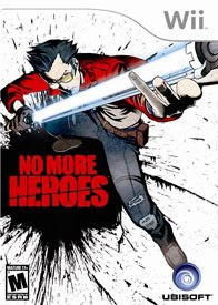No More Heroes is a semi-full-roaming action/adventure title with a good amount of comedy. It's kind of a mix of Grand Theft Auto and River City Ransom, but with a lightsaber.