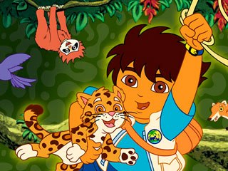 When Ligiah Villalobos became the head writer for Go, Diego, Go!, she had to hire Latino writers, but found few experienced in writing for a preschool animated series. Courtesy of Nickelodeon.