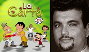 Salvatore Cavalieri of Cilantro Animation opened a studio in Florida to create more Latino animated shows. He introduced original series La Carta at NATPE. © Cilantro Animation Studios 2008.