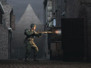 Sacred Road, produced by Blockade Ent. in partnership with Rhythm & Hues, was spotlighted at GDC. The series is the first to be made with a game engine. © Blockade Ent., 2008.