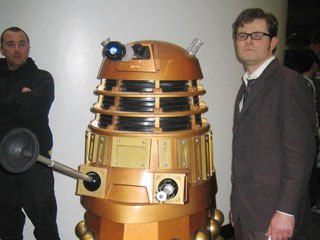 Doctor Who and a Dalek patrol the grounds. Courtesy of Andrew Farago.