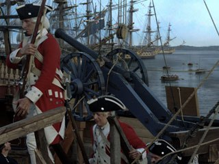 John Adams was a big project for Barnes and his team. They created about 400 shots comprised of matte paintings and set extensions. © HBO.