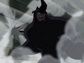 Rhino, voiced by Clancy Brown, is one of the many villains the new Spidey must face.