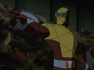 A second season of Spectacular Spider-Man is assured and the Spidey merchandise machine could be a huge success for Sony. Above, Shocker is another Spider-Man villain.