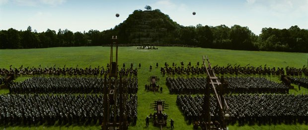 For Adamson, the most important recent advance in vfx is the increased ability to create sophisticated interaction between live-action and CG work. Here, an epic battle takes place to determine control of Narnia.