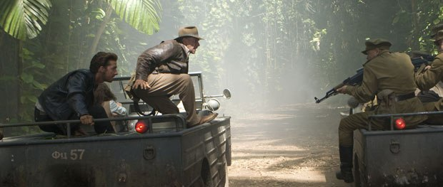 Previs was used in the speeding jeep/swordfight sequence in the jungle.