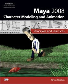 All images from Maya 2008 Character Modeling and Animation: Principles and Practices by Tereza Flaxman.