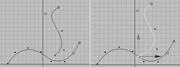 [Figure 6] Two CV curves (l). [Figure 7] Curve snapped.