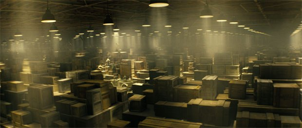 R&D focused on a new approach to particle work like in the opening warehouse where there is gunpowder.