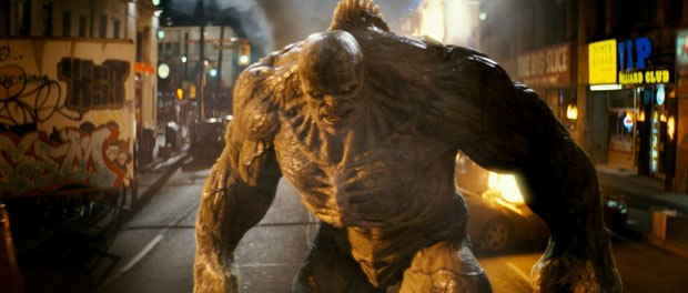 For Abomination, it was important that he be a formidable character in size and look that would truly make Hulk an underdog.