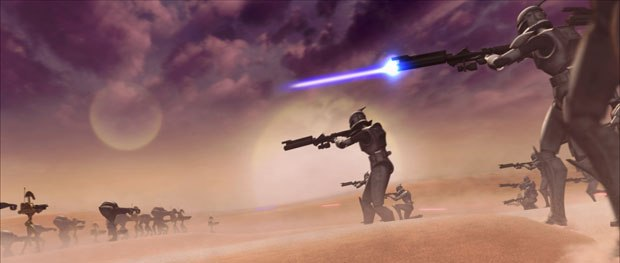 The upcoming Star Wars:The Clone Wars is relying heavily on an Autodesk pipeline to blast off into fresh animated territory. © & ™ Lucasfilm Ltd.