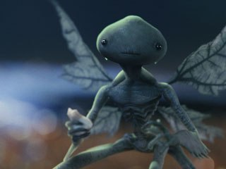 The hero Tooth Fairies were created using hand animation to obtain a defined performance.