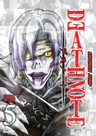 The mystery of Death Note continues with Volume 5. Though not as exhilarating as the previous installments, it is a hinge upon which the story is making a distinct turn.