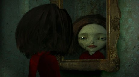 Each teenager was matched with an animator to achieve the right style. Burstein found David Lobser for Hannah's nightmare.