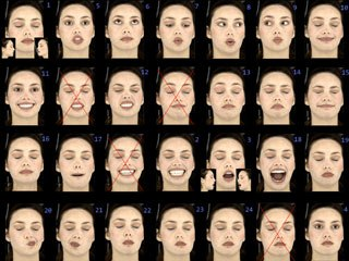 A library of Emily's expressions.
