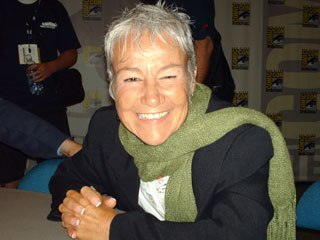 Dialog director Andrea Romano discussed her work on Wonder Woman, as well as Freakazoid and Tiny Toons Adventures. Courtesy of Janet Hetherington.
