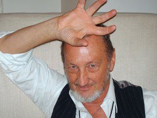 Robert Englund, who has been doing significant voice work, promoted his role as The Vulture in The Spectacular Spider-Man. Courtesy of Janet Hetherington.