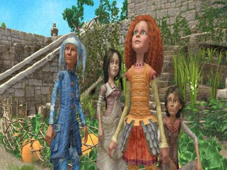 The first five episodes of Jane and the Dragon become available on a single DVD on Aug. 19, from Shout! Factory. © 2005-2006 WETA Productions Ltd. /NELVANA Ltd.