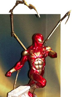 The 12-inch Iron Spider-Man was a popular item for Sideshow Collectibles.